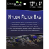 Deep Blue - Nylon Mesh Media Bag 4X12