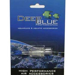 Deep Blue Inline Check Valve