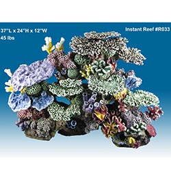 Premium aquatics blog instant reef artificial coral inserts for Artificial coral reef aquarium decoration inserts