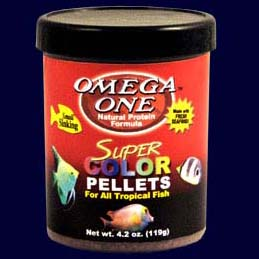 Omega One Sinking Super Color Pellets 4.2 oz