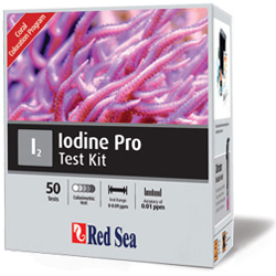 Red Sea Iodine Pro (I2) High accuracy analytical test kit