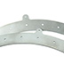 Reef Brite Led 5 Hole Bracket - Pair - SILVER