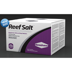 Seachem Reef Salt 200 gal box